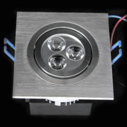 LED осветително тяло за вграждане DL-3X1W-WW1