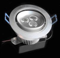 LED осветително тяло за вграждане DL-3X1W-CW