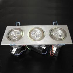 LED Ceiling Light DL-9X1W-WW1