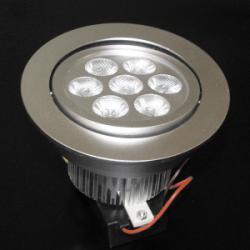 LED осветително тяло за вграждане DL-7X1W-CW