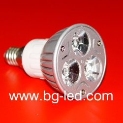 LED Spot Light E14-3X1W-CW